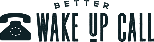 Better Wake-Up Call Logo Bigger Black